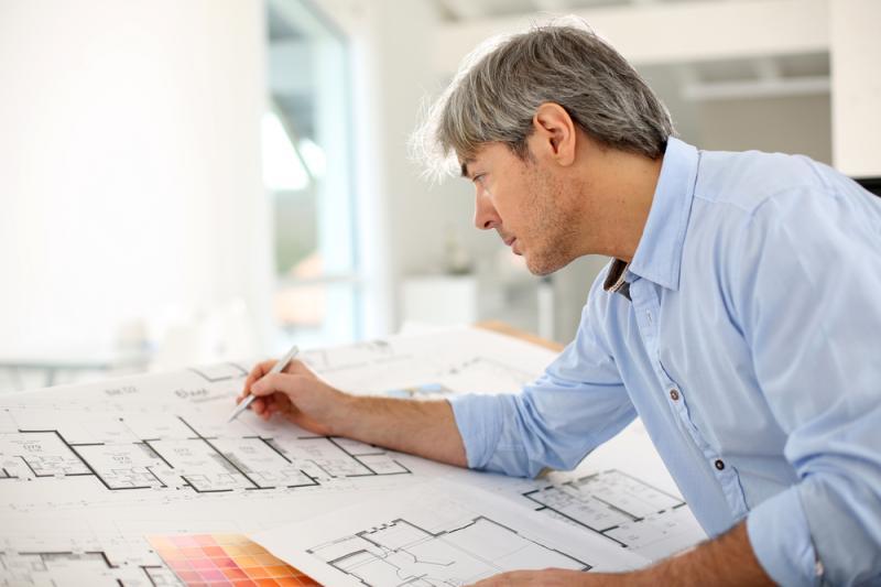 Anlita en arkitekt för ett helt unikt hus